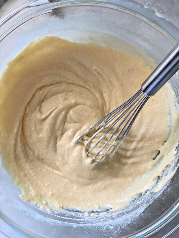 lemon cake batter
