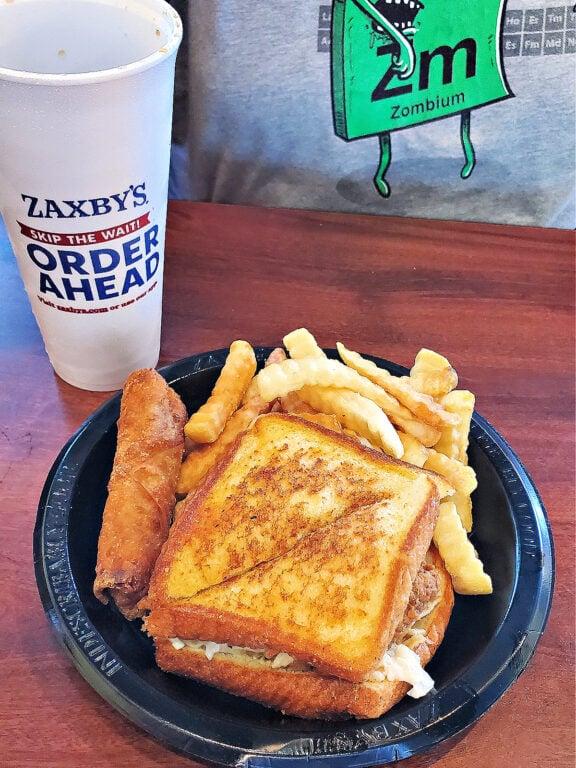Zaxby's Zensation meal