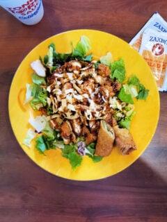 Zaxby's Zensation salad