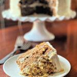 Hummingbird cake slice
