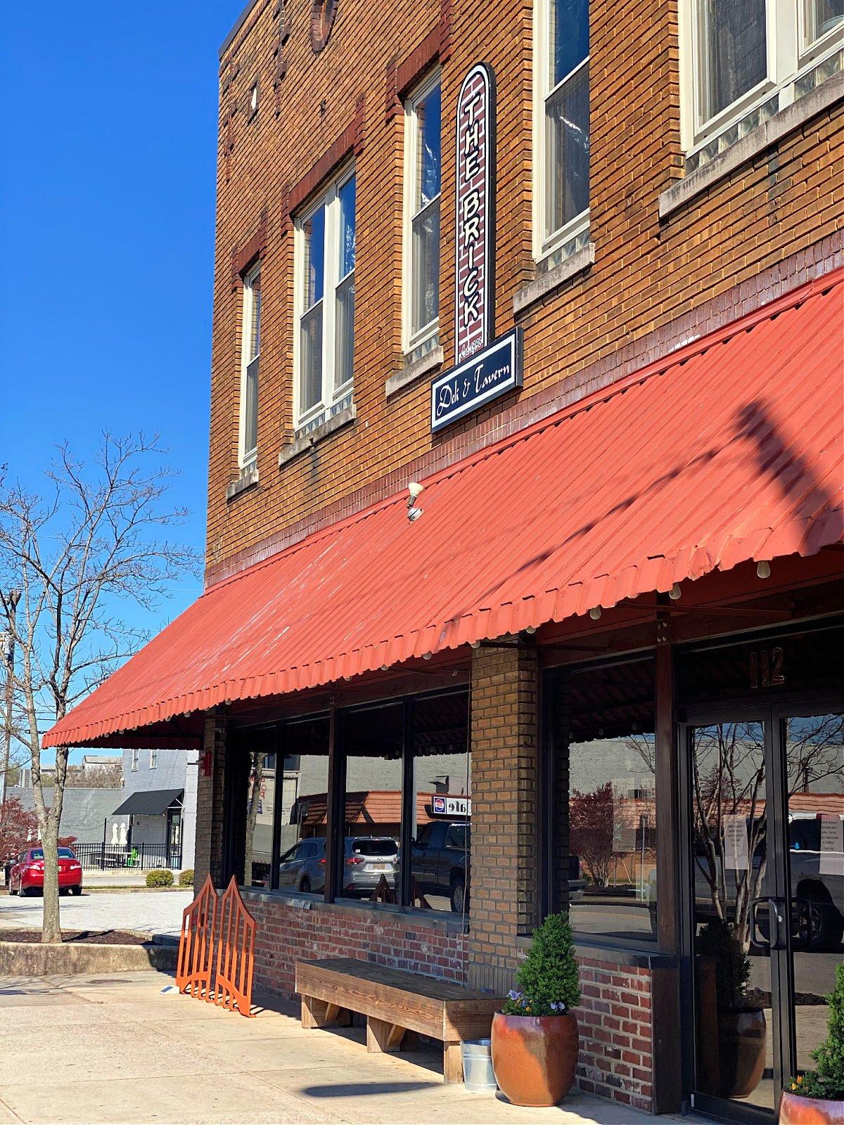 The front of The Brick Deli in Decatur.