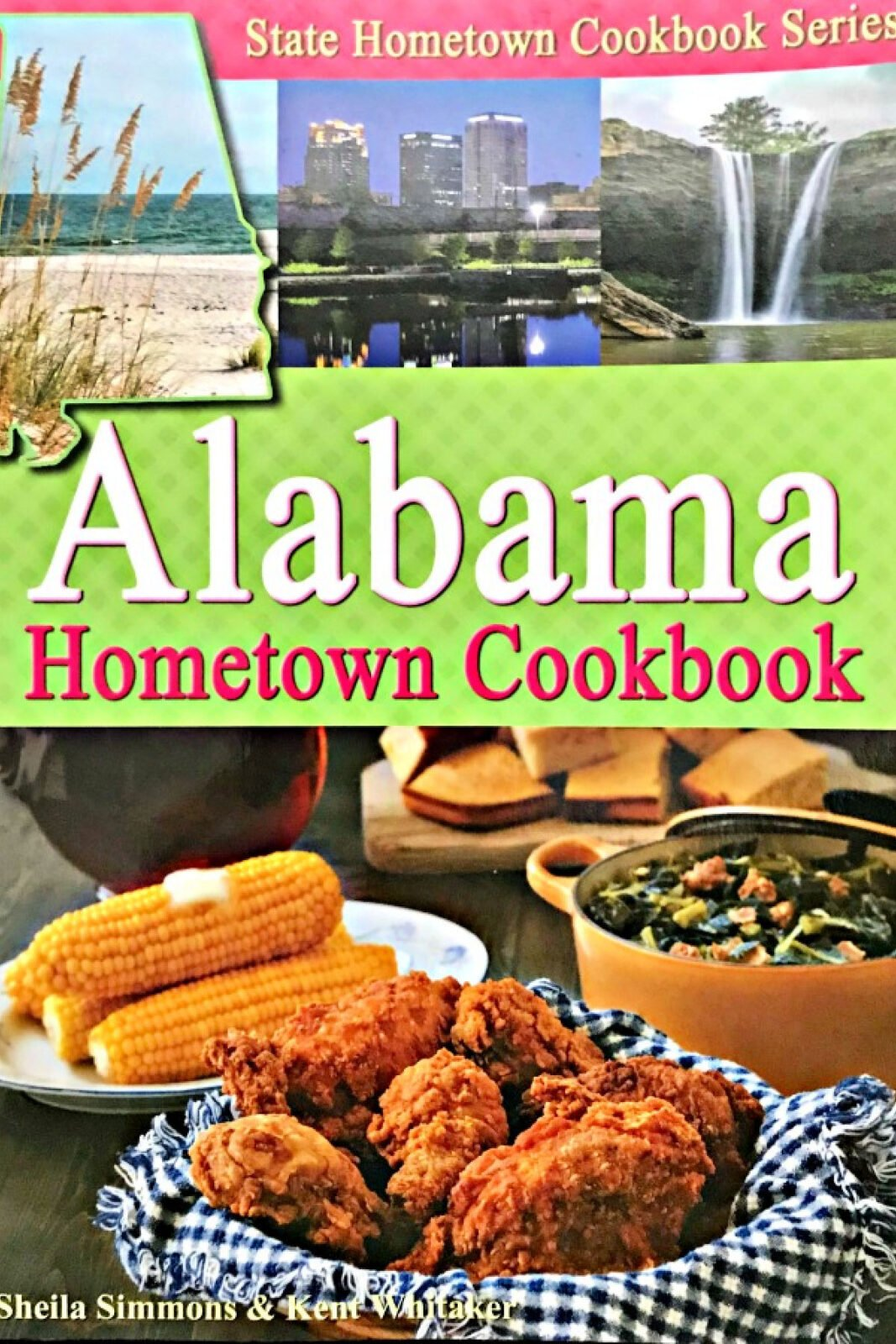 Alabama Hometown Cookbook cover.