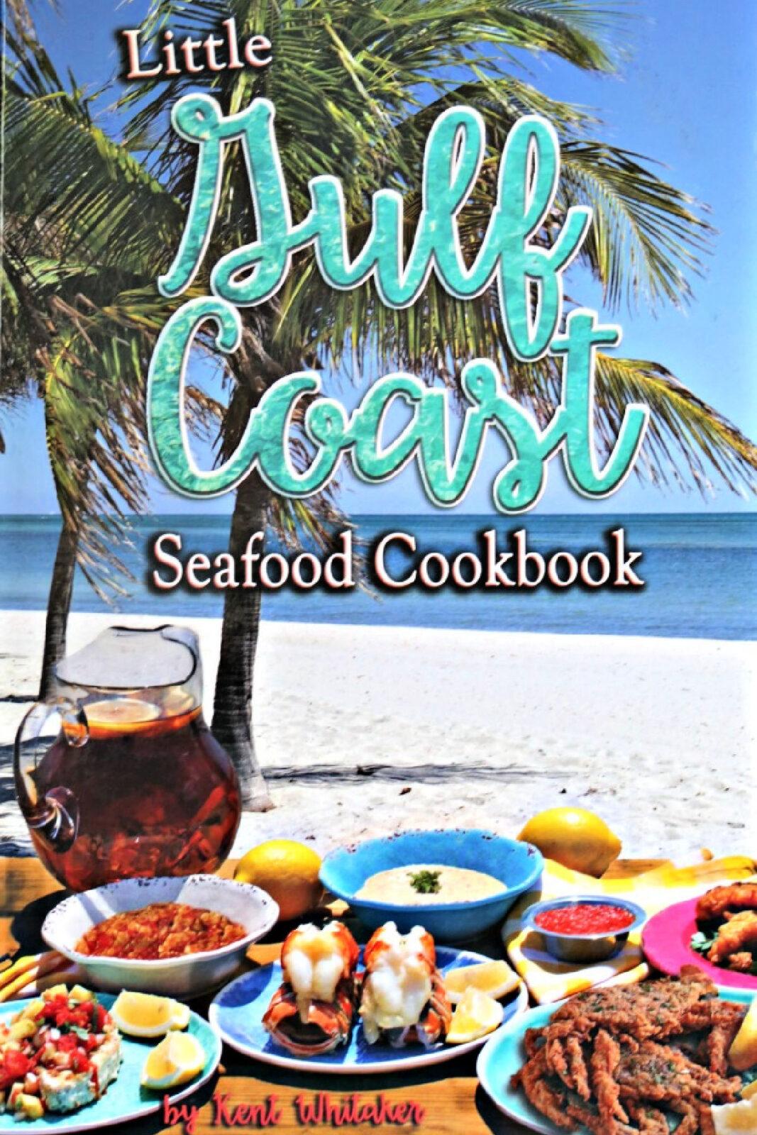 Little Gulf Coast Seafood Cookbook cover.