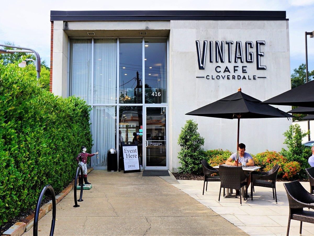Vintage Cafe in Cloverdale in Montgomery, Alabama.
