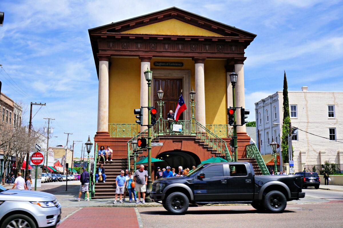 Confederate Museum building.