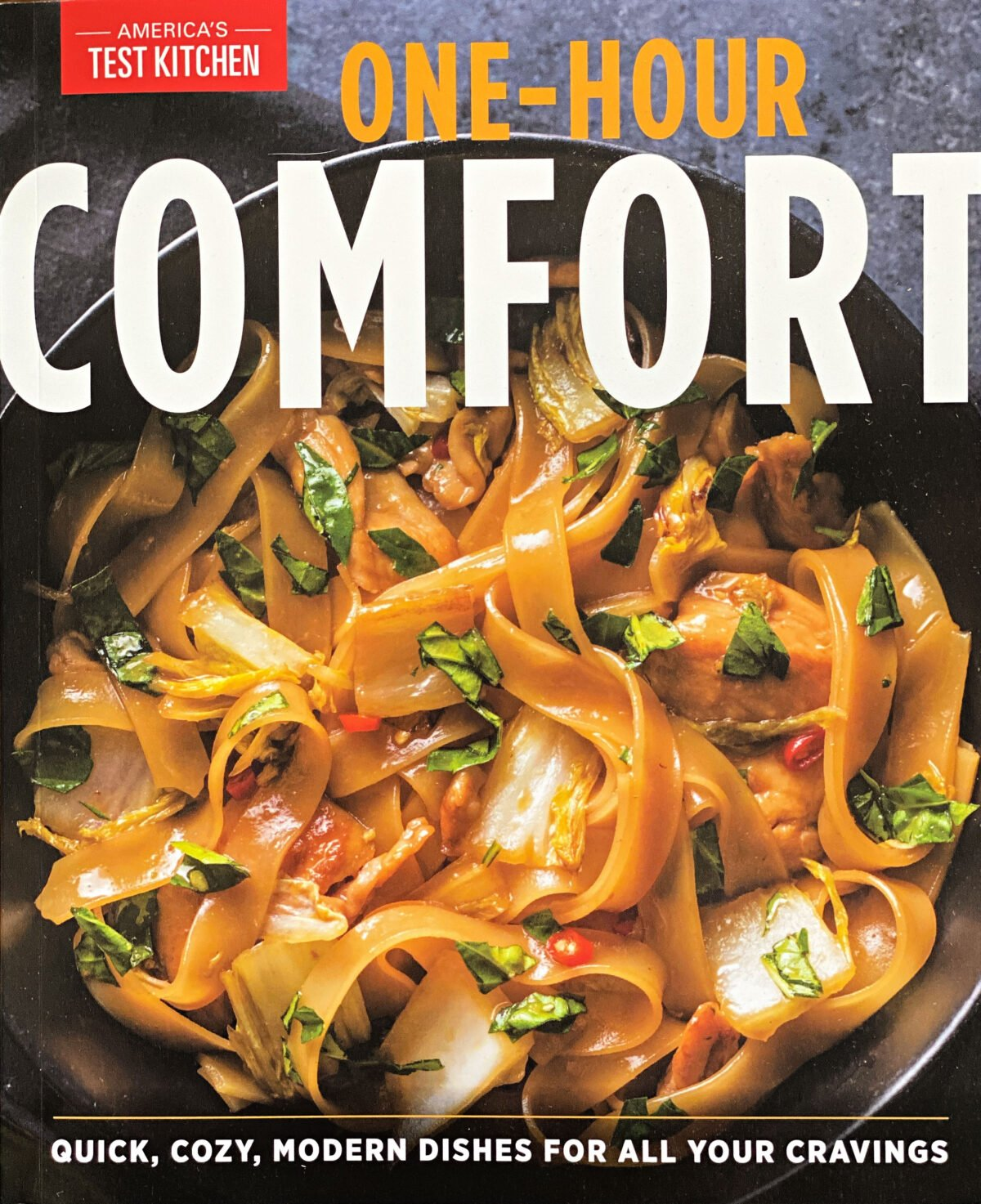 One-Hour Comfort cookbook.
