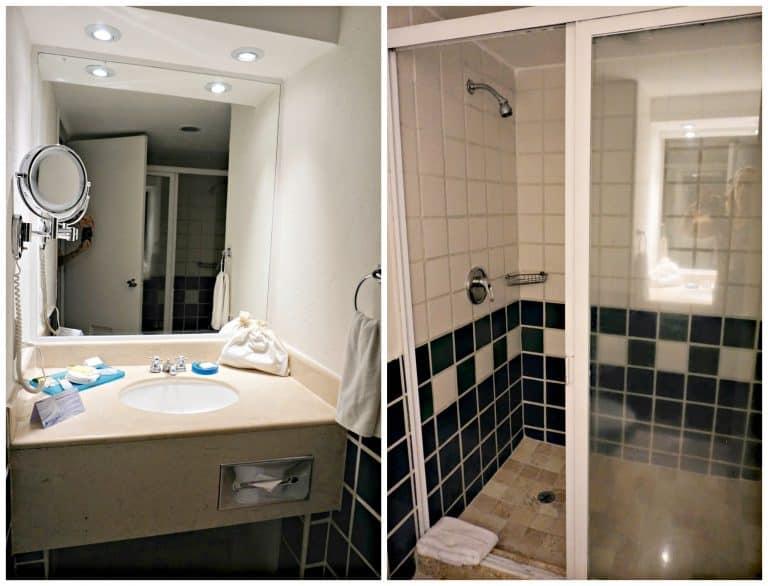 Bathroom of Double Room at Buenaventura Grand